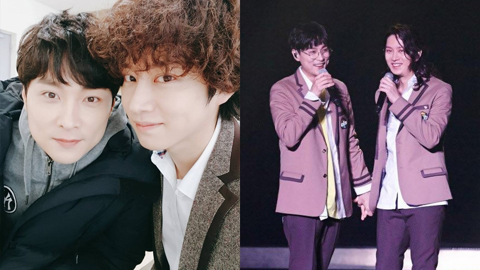 Super Junior S Heechul Performed Sweet Dream At Super Junior S Concert With Min Kyunghoon Making A Special Appearance On Stage