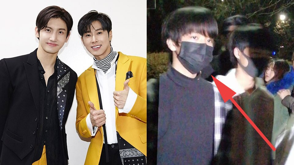 Fans Spotted SM Entertainment Male Trainees Coming to TVXQ Concert