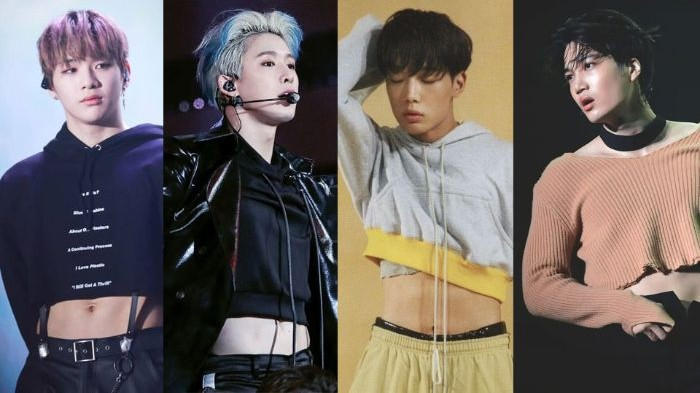 12 Male Idols Who Blow Minds with Their Crop Top Fashion