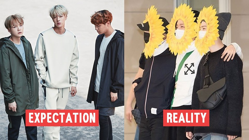 BTS' Jin, Suga, and JHope Literally Turned to Sunflower for