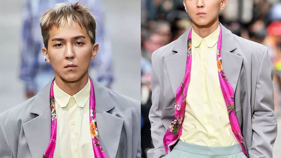 WINNER's Song Minho Made His Runway Debut at Louis Vuitton's Fashion