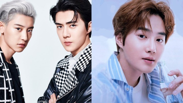 Here are Photos of Eight EXO Members from 'FLO' and