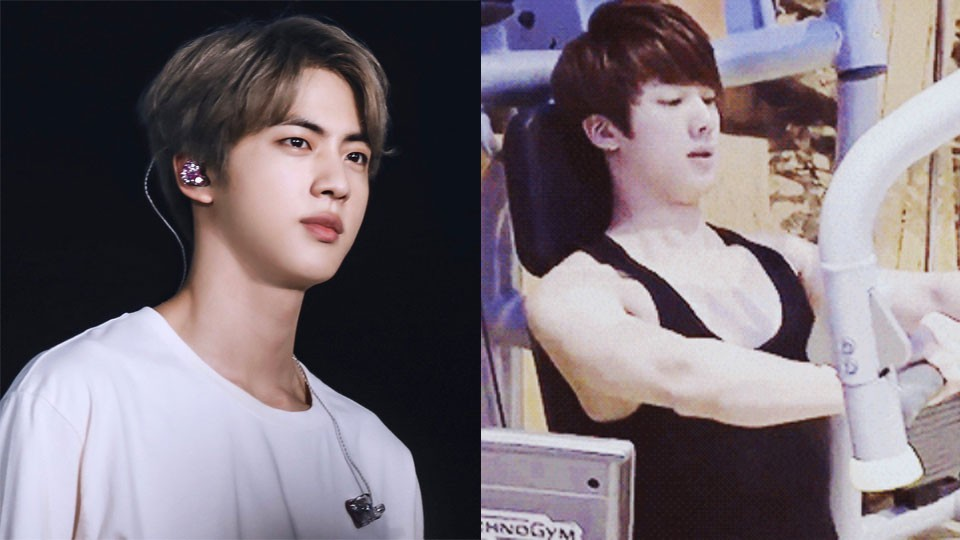 Jin's Personal Trainer about Him Training at the Gym:
