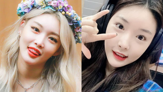 Unlike Her Usual Fancy Makeup Chungha Shows Off Another Charm Through Her Face With No Makeup