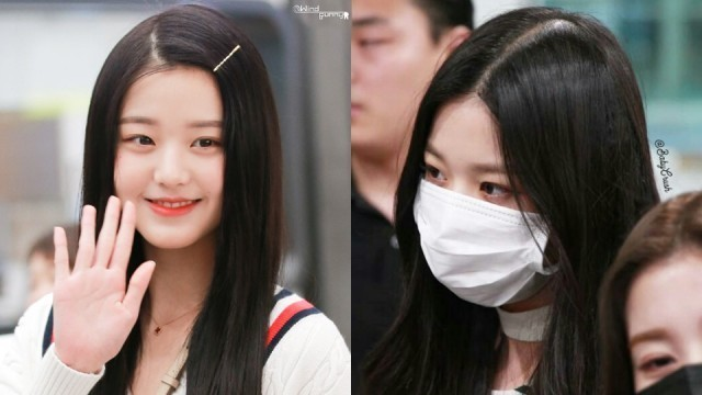 Fans Expressed Worry Towards Iz One S Wonyoung After She Was Spotted Got A Hair Loss Allegedly From Extreme Stress