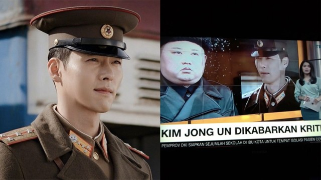 Cnn Indonesia Apologizes For Mistakenly Using Hyun Bin S Photo From Crash Landing On You While Making A Report Of North Korea S President Kim Jongun