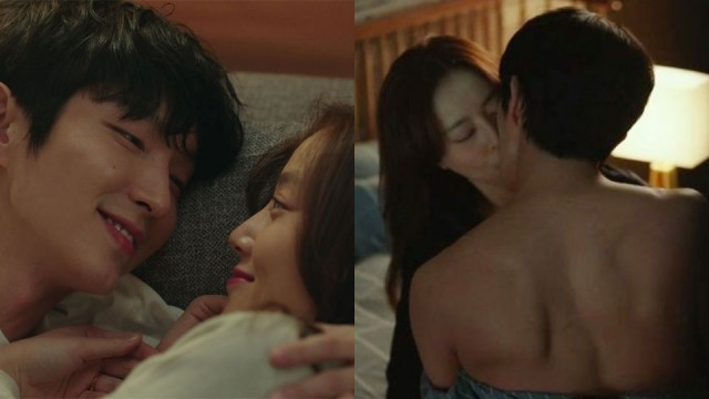 Lee Junki And Moon Chaewon Made Headlines With An Intense Bed Scene In Flower Of Evil