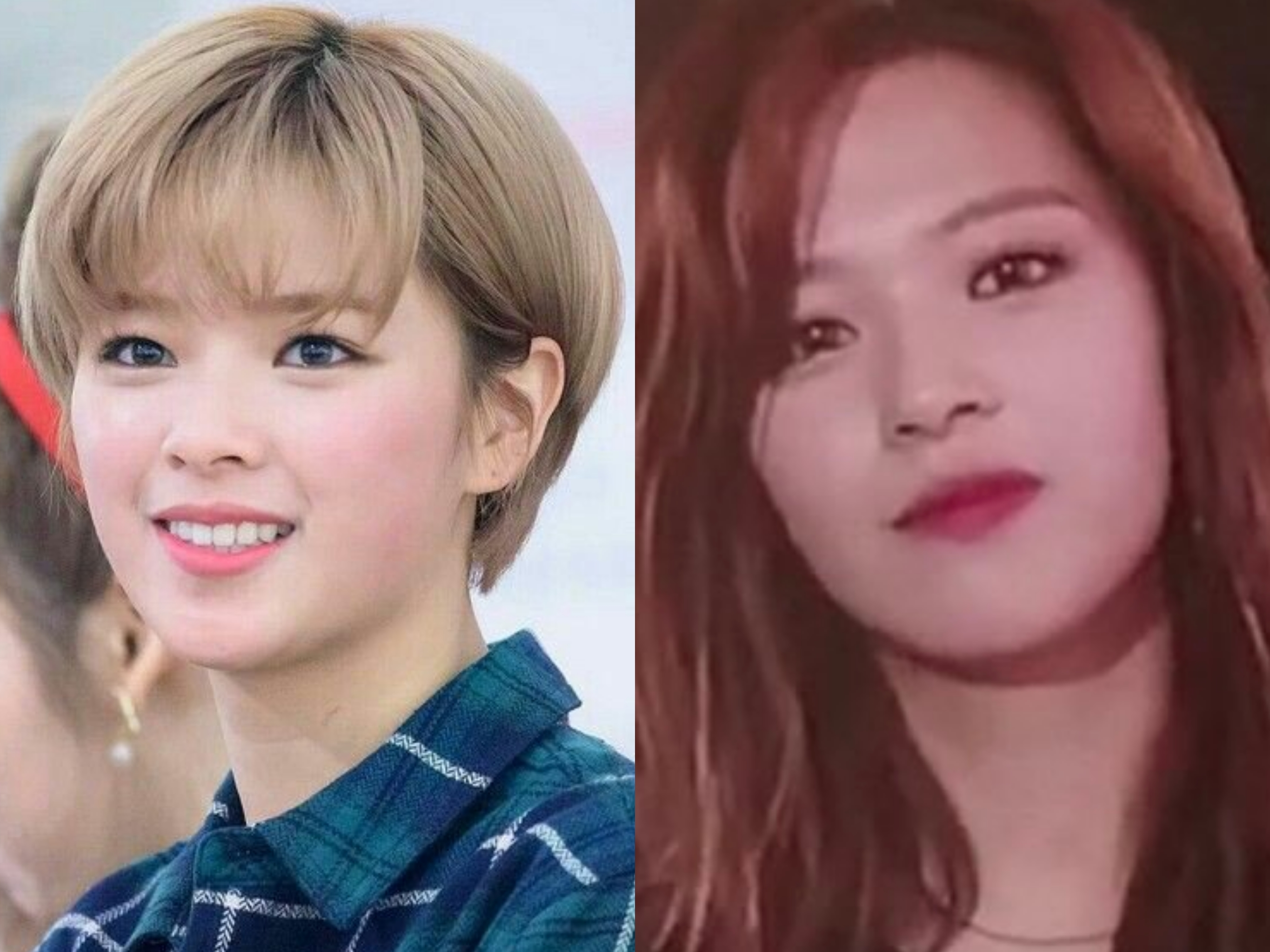 Which One You Prefer Jeongyeon With Long Hair Or Short Hair