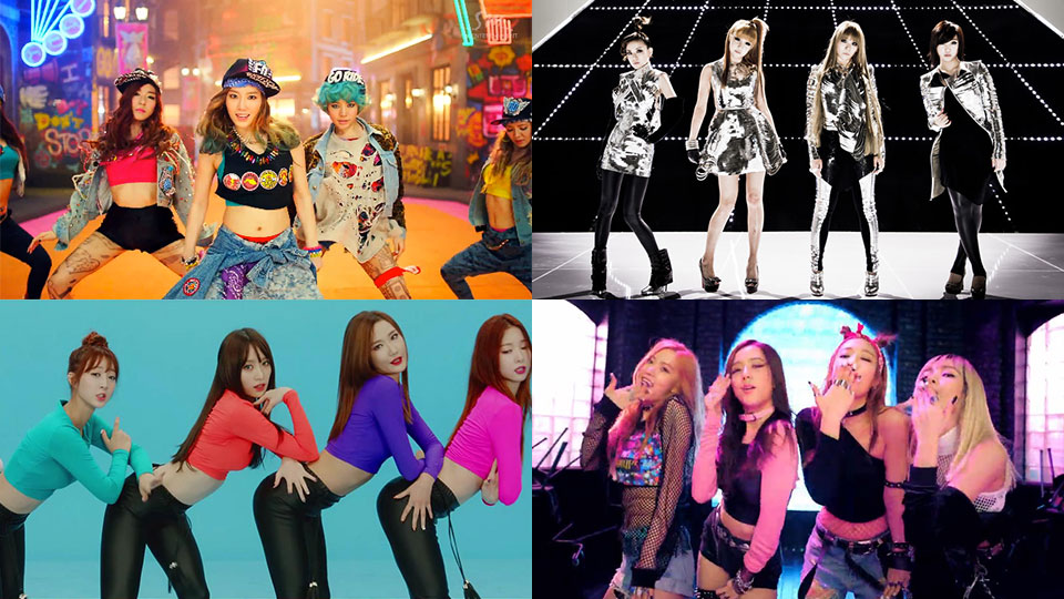 Top 50 KPOP Girl Group All Time Most Viewed MVs on Youtube