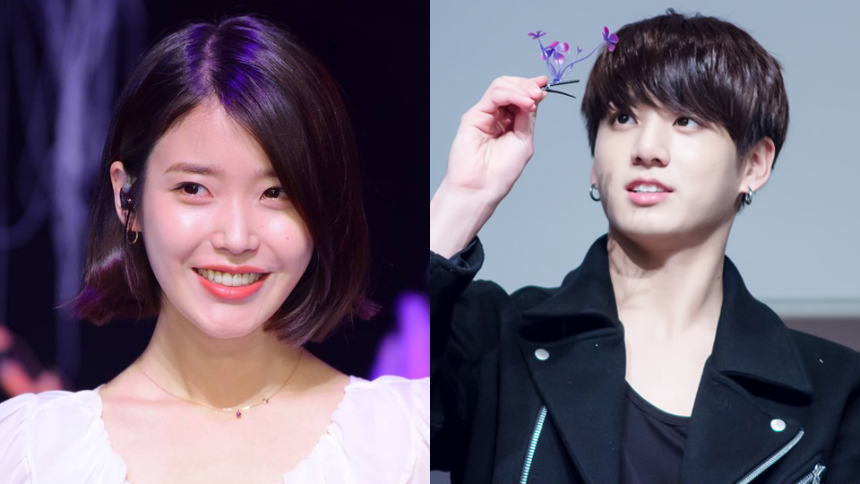BTS` Jungkook Gave His Ideal Type IU a Flower on Live Broadcast