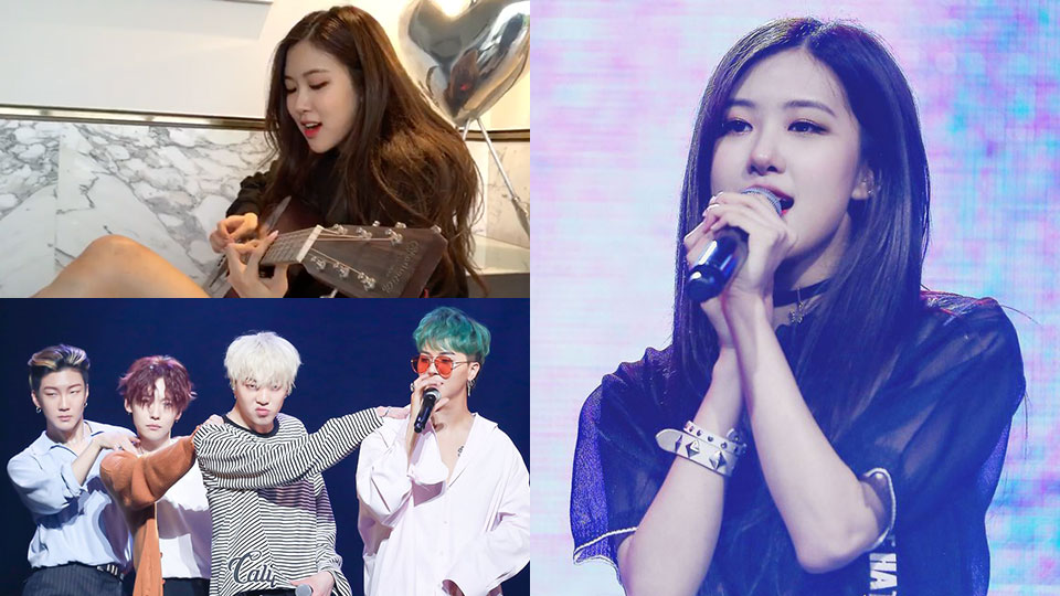 BLACKPINK`s Rose Gives Her Own Rendition of WINNER`s [Really Really]