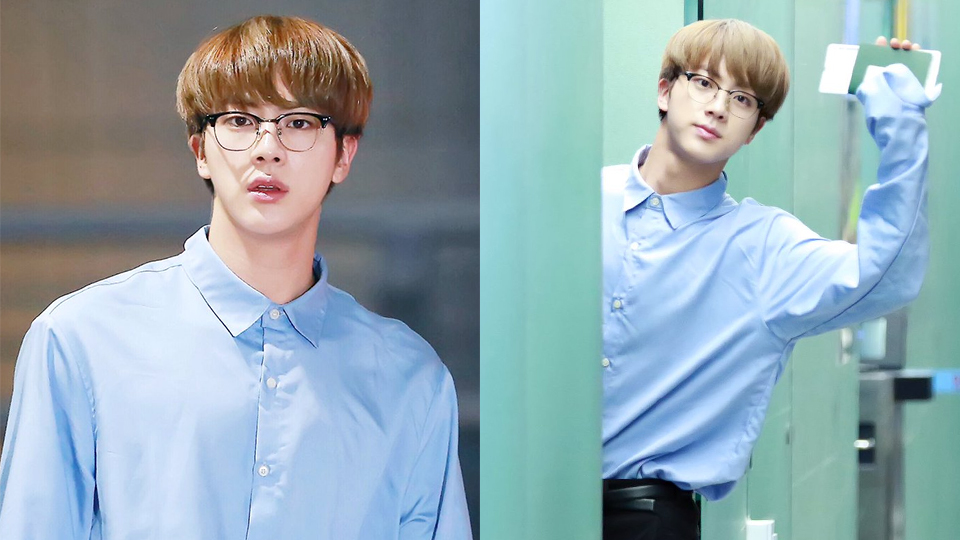 Jin is Going Viral for Recent BTS` `Third Member from the