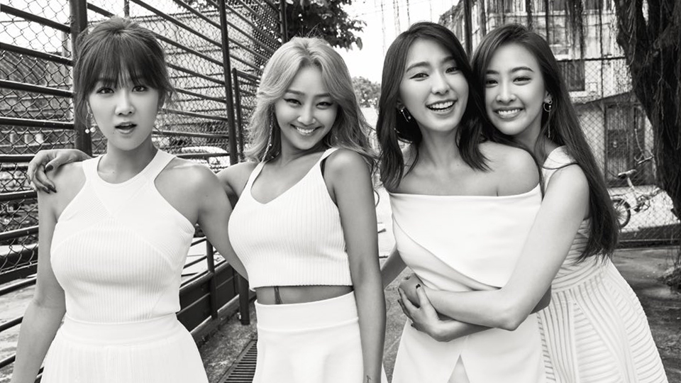 SISTAR Put on an Emotional Performance of Goodbye Song