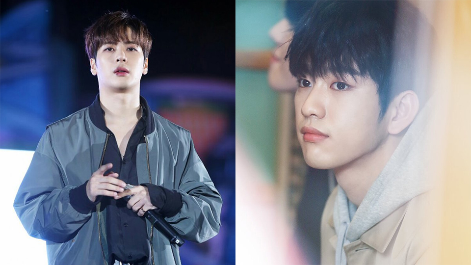 GOT7`s Jinyoung Got Hit by a Basket Ball During a Shooting and Here`s ...