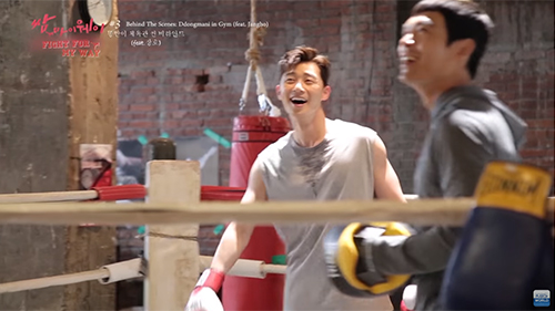 This is How Park Seojoon Practiced for His Boxing Scenes in [Fight