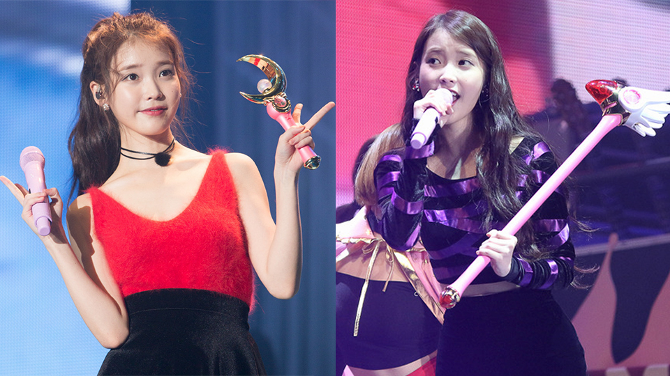 Fans Look Back on How IU Turned into a Japanese Character