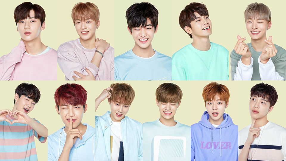 Wanna one members got new individual shoots for innisfree share stopboris Choice Image