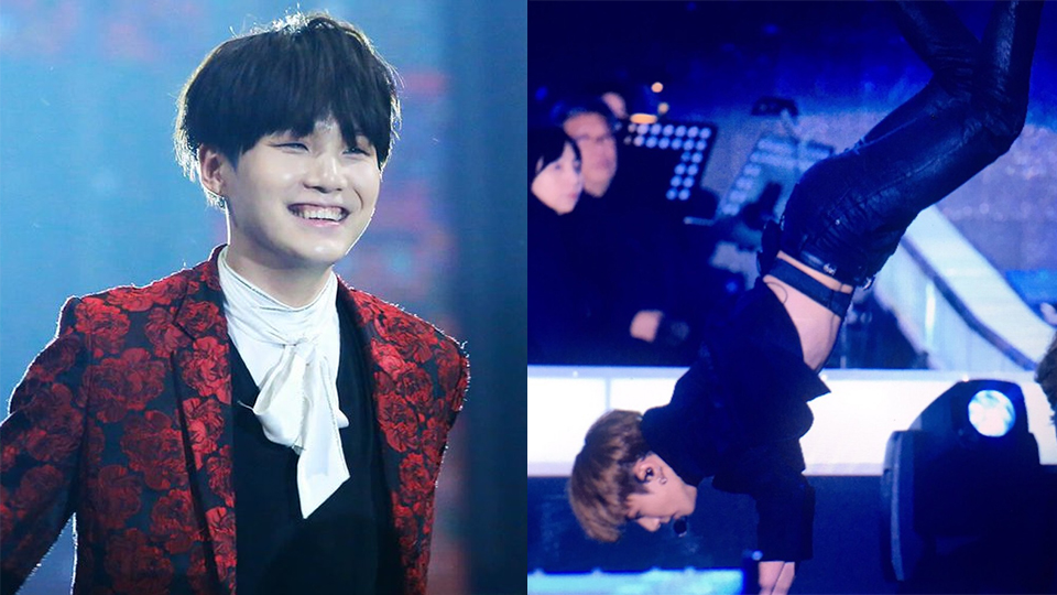 Suga Tried to Imitate Jungkook`s Dance Part in [Blood, Sweat & Tears