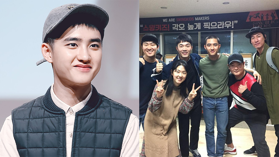 Exo S D O Shaved His Head For His New Movie