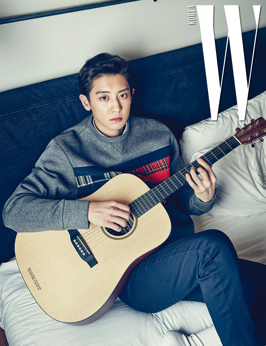 EXO Chanyeol`s Newest Pictorial with [W Korea] Redefines