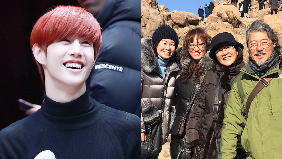 GOT7`s Mark`s Parents Enjoyed a Special Tour Given by Yugyeom and JB