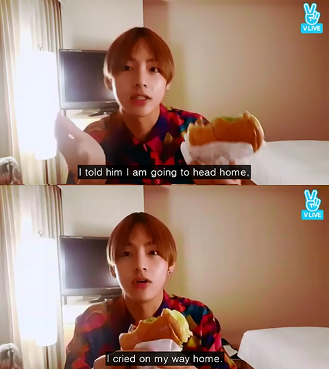 BTS` Taehyung Said One of His Friends Once Outcast Him, He