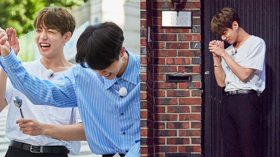 BTS Come to This Top Actress` House  She Refused to Open the Door