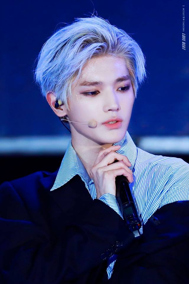 Remember This NCT Taeyong`s Hair Color? The Behind Story ...