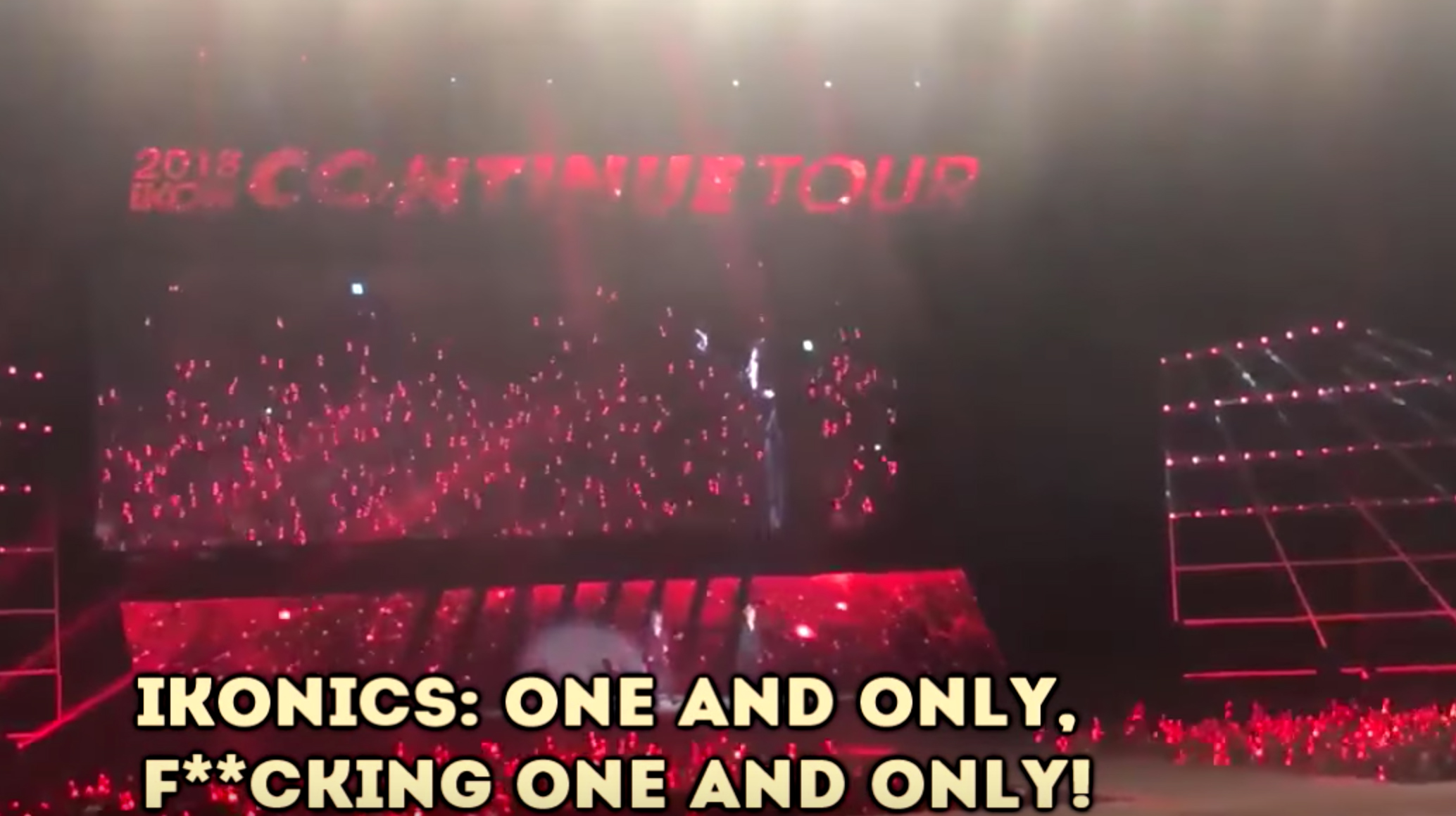 iKON`s B I Immediately Put Everything to a Stop When Fans Did the